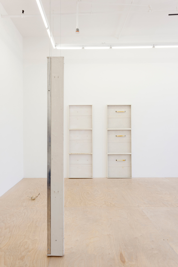 Hester - Installation view of σ, 2015