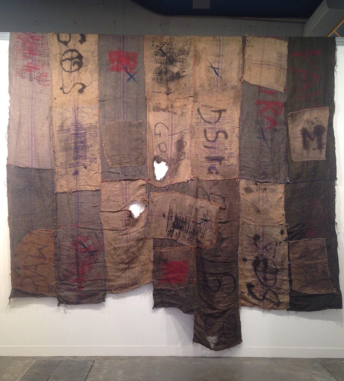 Ibrahim Mahama - Apalazzo gallery, Brescia