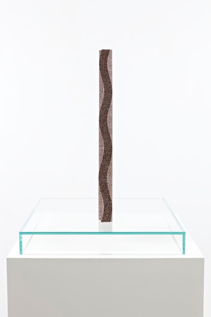 Tauba Auerbach - Gnomon-Wave Fulgurite I.II (side)