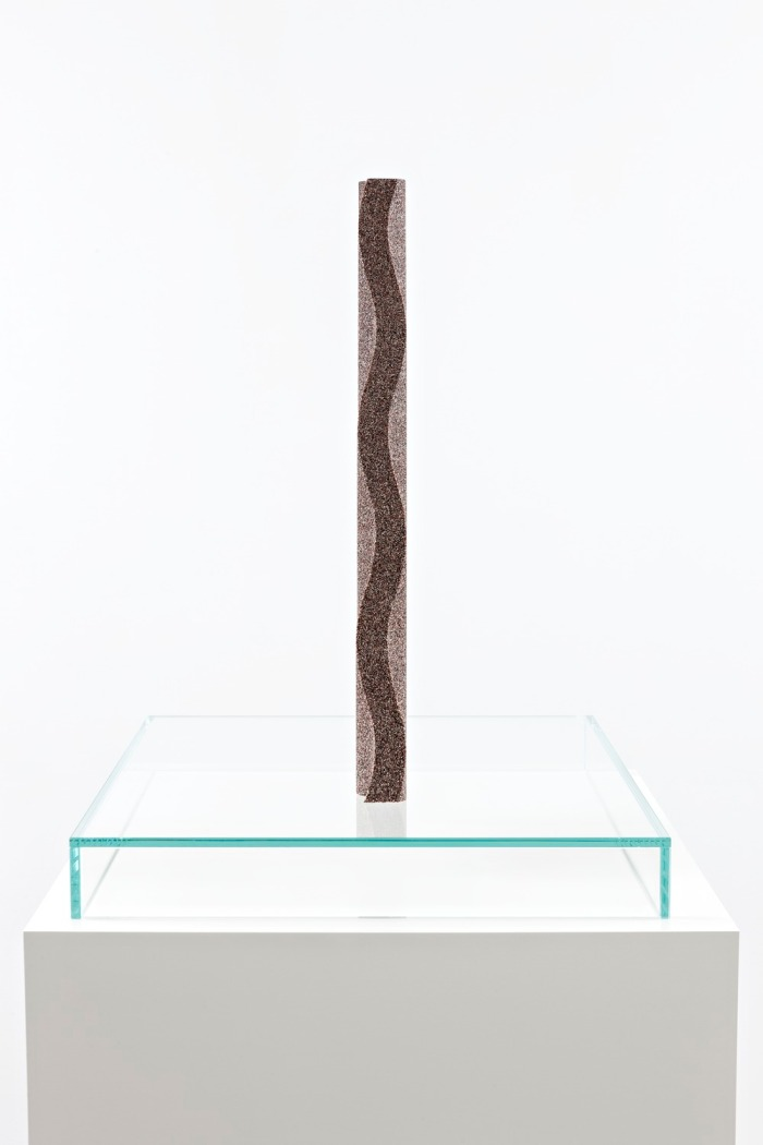 Tauba Auerbach - Gnomon-Wave Fulgurite I.II (side)