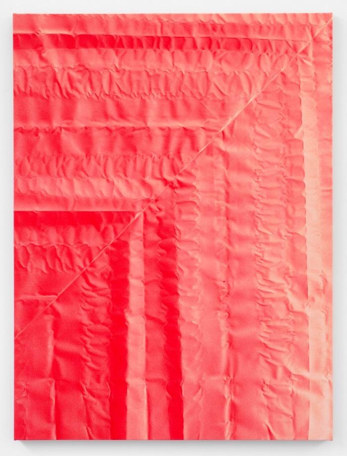 Tauba Auerbach - Untitled V (Fold)