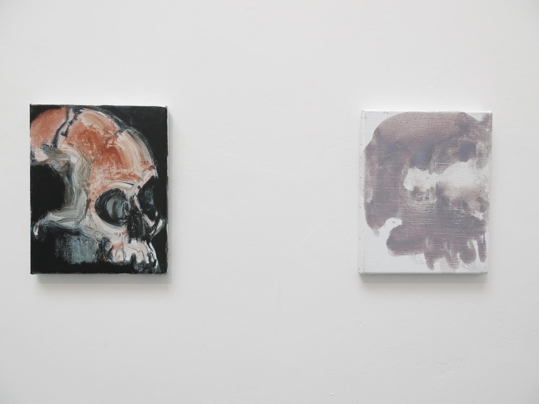 Marlene Dumas, Skull 2013-2015 (Detail)