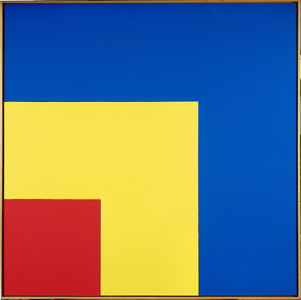 Ellsworth kelly-red-yellow-blue III, 1963