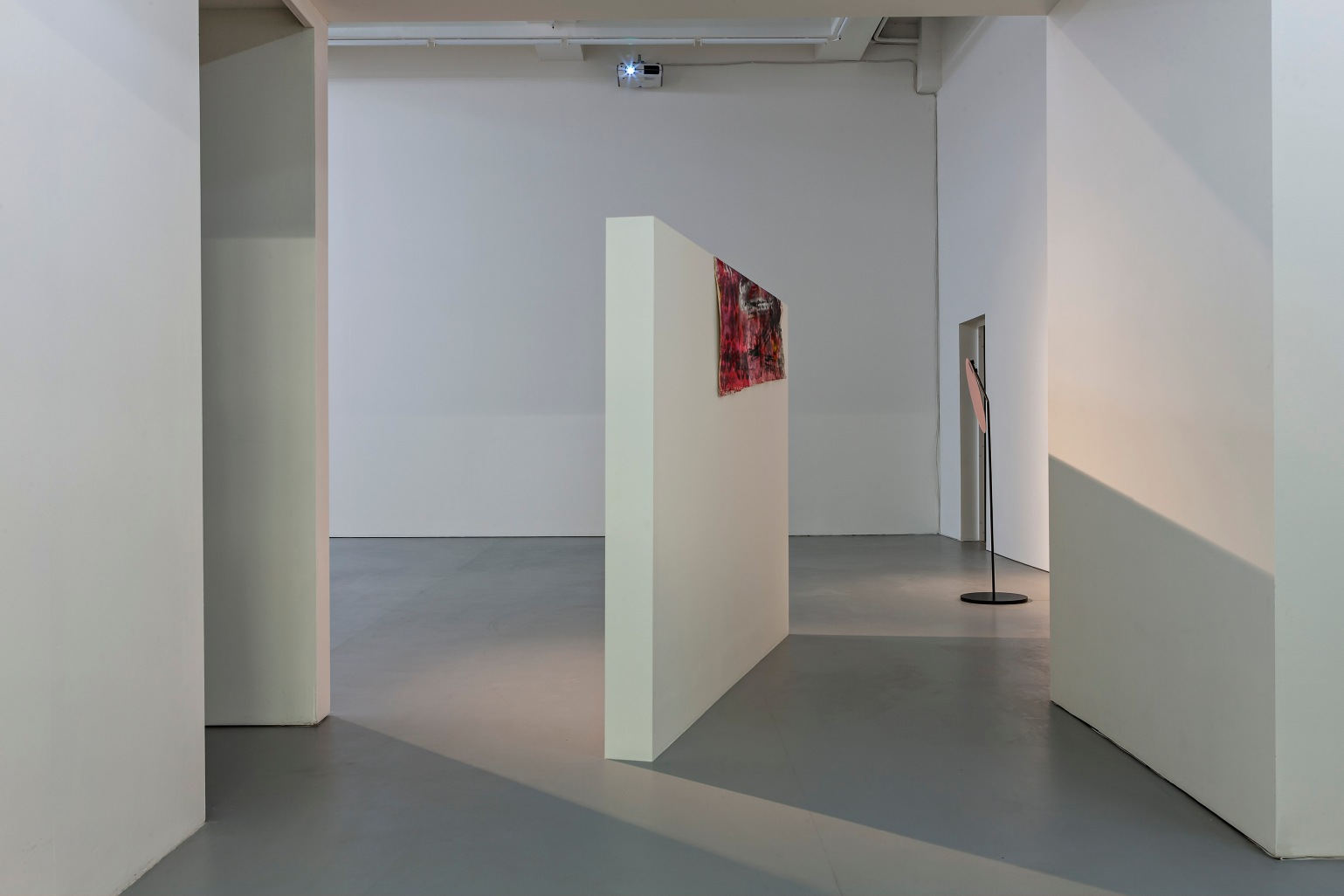 Installation view : Neil Doshi, Scenes From Scenes From a Play, 2015