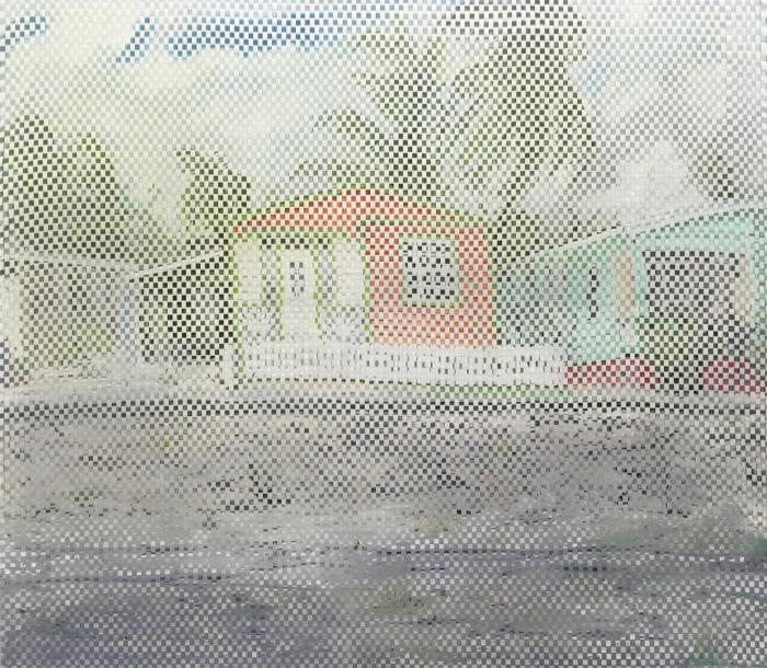 14-ditte-ejlerskov-wrong-house-weave-2016-oil-on-2-canvases-weaved-together-140-cm-x-160-cm