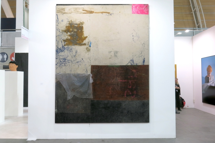 Oscar Murillo. Courtesy Isabella Bortolozzi Gallery Berlin
